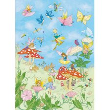 <strong>Brewster Home Fashions</strong> Ideal Decor Fairy Tales Wall Mural