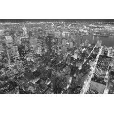 Ideal Decor Empire State Building East View Wall Mural
