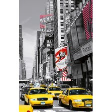 Ideal Decor Times Square Li Wall Mural