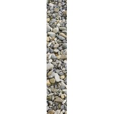 <strong>Brewster Home Fashions</strong> Stripe Euro Pebbles Wall Decal