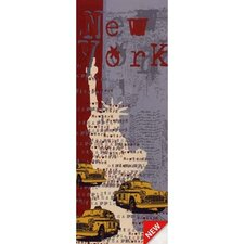 Euro New York Panel Wall Decal