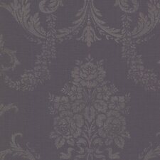 <strong>Brewster Home Fashions</strong> Buckingham Chambers Floral Damask Wallpaper