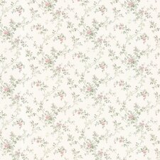 <strong>Brewster Home Fashions</strong> Dollhouse Janine Climbing Floral Botanical Wallpaper