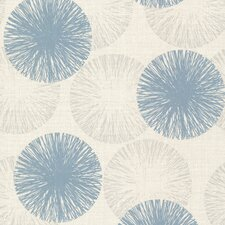 <strong>Brewster Home Fashions</strong> Naturale Cayman Contemporary Raffia Floral Wallpaper