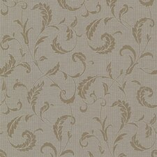 <strong>Brewster Home Fashions</strong> Buckingham Ashton Scroll Wallpaper