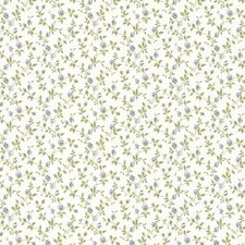 <strong>Brewster Home Fashions</strong> Dollhouse Izabella Rosebud Floral Wallpaper