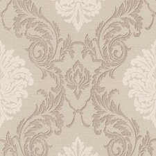 <strong>Brewster Home Fashions</strong> Buckingham Rennie Damask Wallpaper