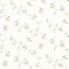 <strong>Brewster Home Fashions</strong> Dollhouse Veronica Floral Trail Wallpaper