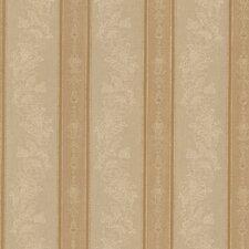 Juliette Abraham Embellished Stripe Embossed Wallpaper