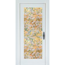 <strong>Brewster Home Fashions</strong> Premium Dogwood Door Window Film
