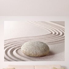 Ideal Décor Zen Stone Wall Mural