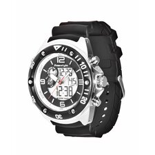 Active Precision 2.0 Watch in Black / Black