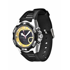 Active Shark X 2.0 Watch in Black / Yellow