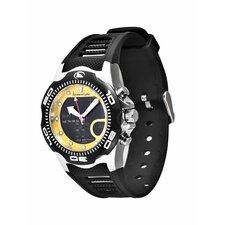 Active Shark X 2.0 Watch in Black / Yellow