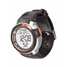 Performance Mariner Watch in Black / Orange
