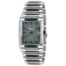 Men's Classics Rectangular Bracelets Watch in Gunmetal