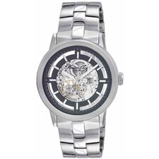 <strong>Kenneth Cole</strong> Men's Automatics Bracelets Watch in Gunmetal
