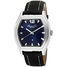 <strong>Kenneth Cole</strong> Men's Tonneau Watch