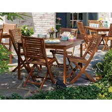 <strong>Oxford Garden</strong> Capri 5 Piece Dining Set