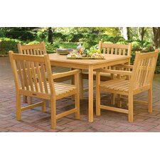 <strong>Oxford Garden</strong> Classic Patio Square Dining Table