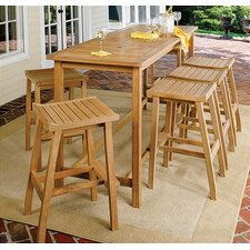 <strong>Oxford Garden</strong> Dartmoor 6 Piece Bar Height Dining Set