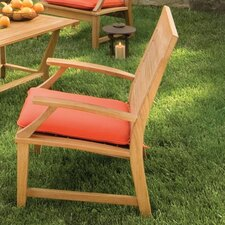 <strong>Oxford Garden</strong> Sutton Dining Arm Chair with Cushion