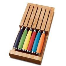 6-Piece Drawer Block Cutlery Set