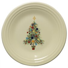 "Christmas 9"" Tree Luncheon Plate"