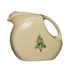 Christmas Tree Disc Pitcher