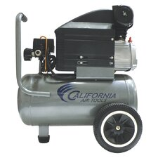 6.3 Gallon 2.0 HP Steel Tank Oil-Lubricated Air Compressor