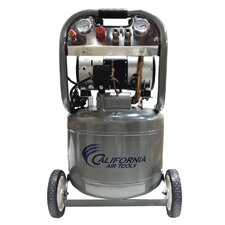 <strong>California Air Tools</strong> 10 Gallon Ultra Quiet and Oil-Free 2.0 HP Steel Tank Air Compressor