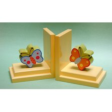 <strong>One World</strong> Butterfly Book Ends (Set of 2)