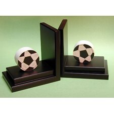 <strong>One World</strong> Soccer Book Ends (Set of 2)