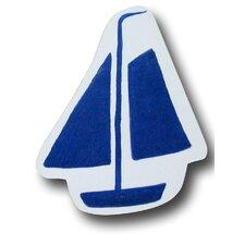"3.5"" Sail Boat Knob"