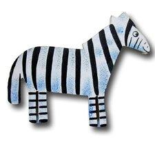 """4.5"""" Zebra Knob"""