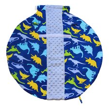 Wrap and Roll Infant Carrier Dino-Mite Arm Pad and Tummy Mat