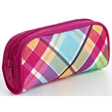 Plaid Multi Purpose Vinyl Clutch