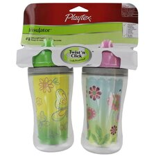 <strong>Playtex</strong> 2 Count 9 Oz The Insulator™ Spill-Proof Cup