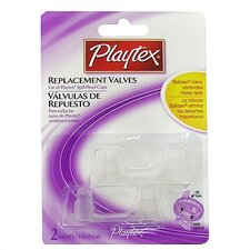 <strong>Playtex</strong> Spill-Proof Replacement Valves 2-Pack