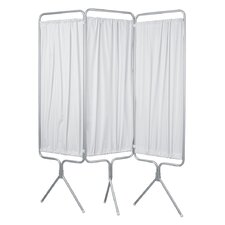 <strong>Winco Manufacturing</strong> 3 Panel Aluminum Folding Privacy Screen