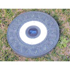 Solar Power Round Stepping Stone (Set of 3)