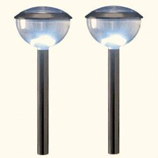 <strong>Homebrite Solar</strong> Solar LED Dome Lights (Set of 4)