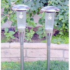 <strong>Homebrite Solar</strong> 3 Ways LED Solar Torch Light (Set of 2)
