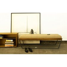 <strong>Elemental Living</strong> Sylis Leather Bench