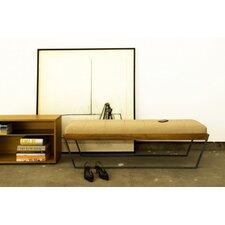 Sylis Leather Entryway Bench