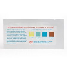 One Step Alcohol Saliva Test Strip