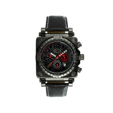 Gasket Men's Watch with Black Case