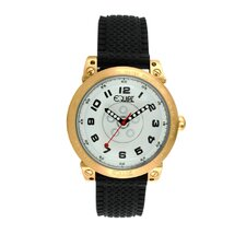 Hub Men's Watch with Gold Case and White Dial