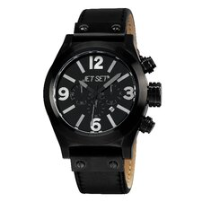 San Remo Men's Watch with Black Case