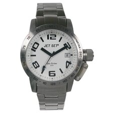 San Remo Dame Men's Watch in Silver with White Dial